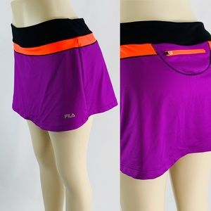 Fila Activewear Purple Large Skort